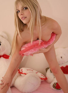 Jana Shows Off Her Tight Round Ass In Pink Panties - Picture 10